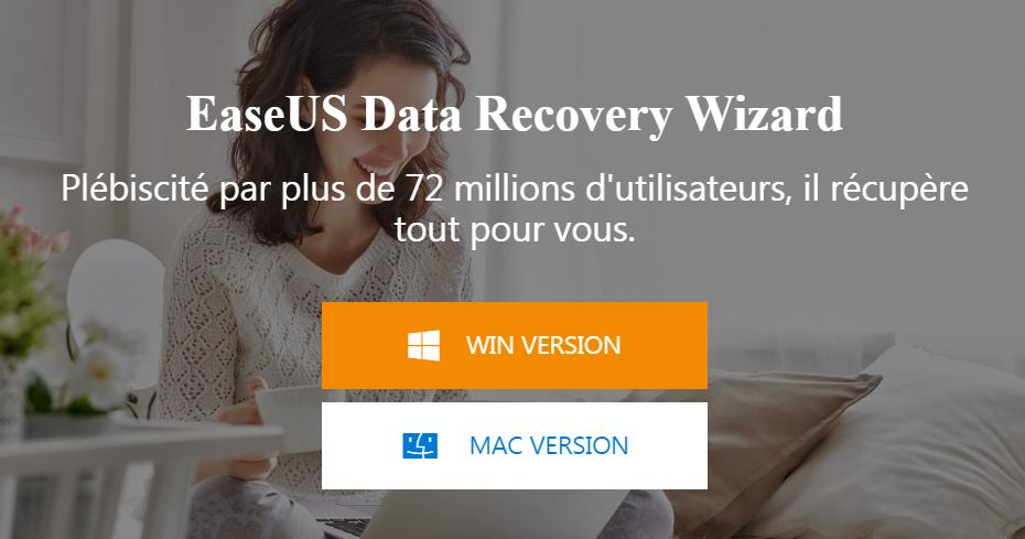 Meilleur logiciel de récupération de données