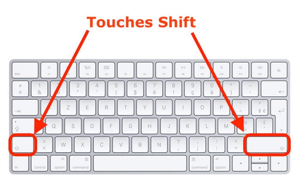 Mode sans échec pour récupérer des données sur un MAC