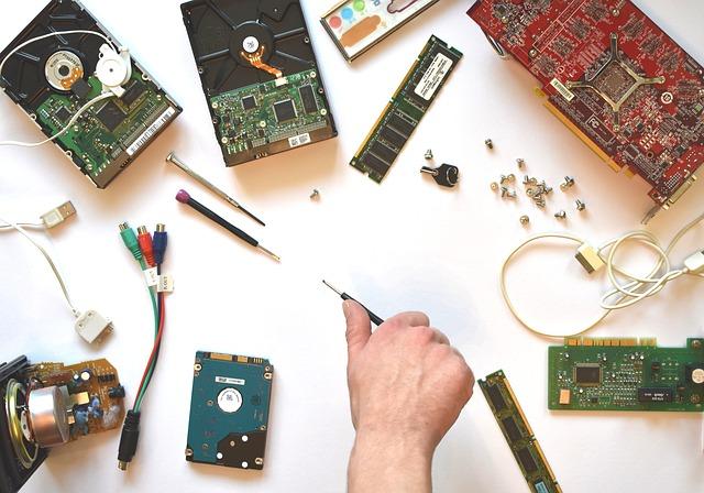 Réparation en salle blanche pour récupérer des données sur un ordinateur