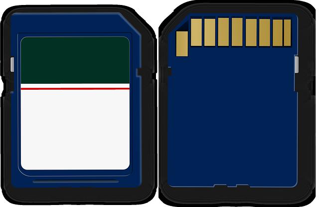 Récupérer des données sur une carte SD