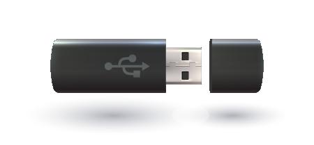 Récupérer des données sur une clé USB