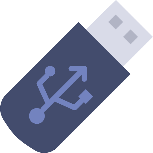 Une clé USB
