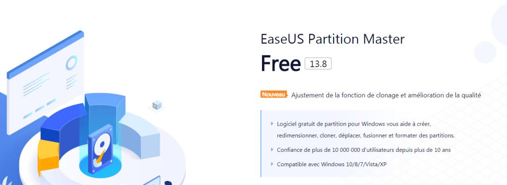 Réparer un disque dur externe avec Easeus